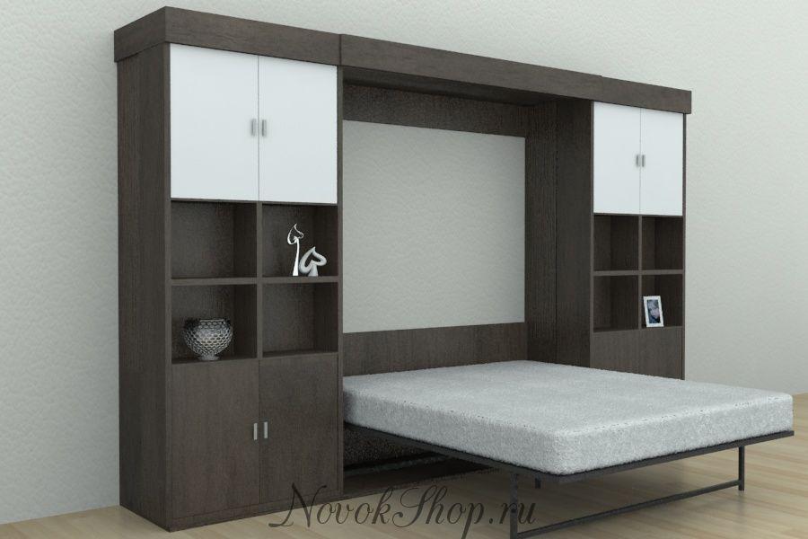 Шкаф-кровать трансформер BRAUNI